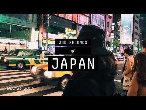 360 Seconds Of Japan (Tokyo, Osaka, Nagano, Kobe, Kyoto)