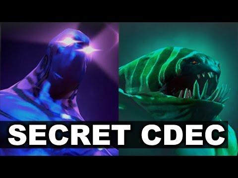 SECRET vs CDEC - 14 min FB + Puppey Enigma Dota 2 - PakVim
