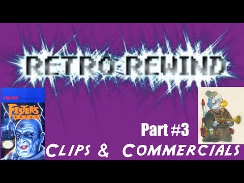 Retro Rewind: Fester's Quest - NES Video Game TV Commercial - Nintendo (1989)
