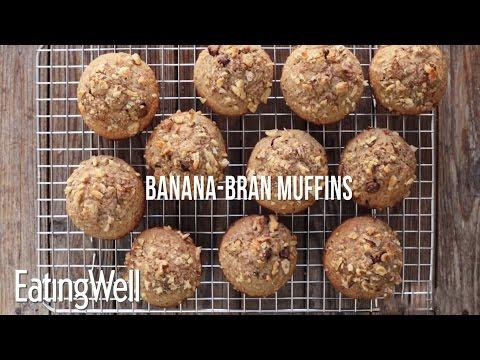 How to Make Banana-Bran Muffins