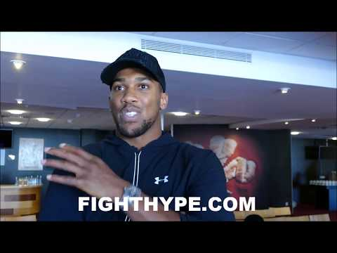ANTHONY JOSHUA GIVES ADVICE TO UFC FIGHTERS CALLING HIM OUT; EXPLAINS WHY