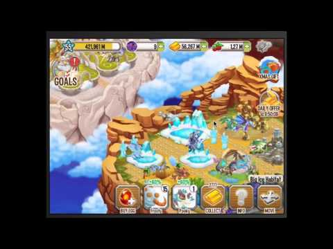 How to get the Great white dragon in dragon city mobile review!