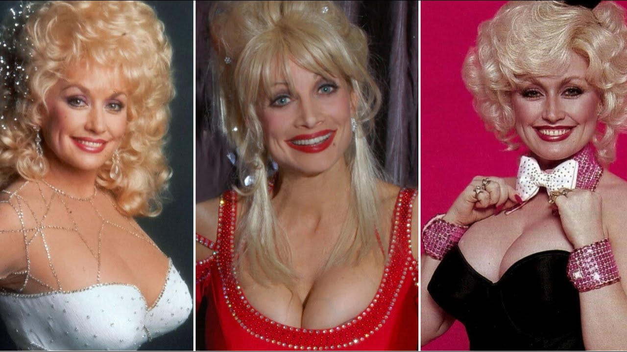 Dolly Parton Aging Through the Years (1967 to 2020)