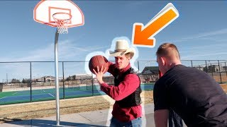 KIDS GET OWNED BY COWBOYS IN BASKETBALL!