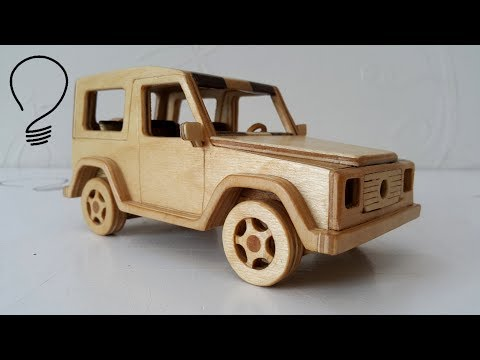 Making a Mercedes G-Class out of Wood