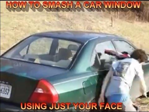 Smashing Car Windows Compilation