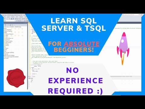 SQL Beginners Tutorial using SQL Server 2008