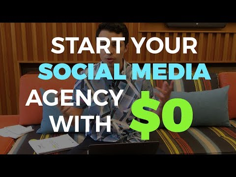 How to Start your Social Media Marketing Agency with $0