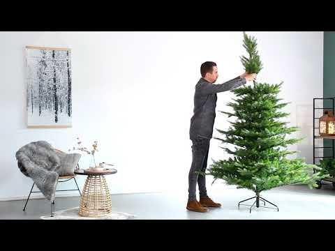 How to assemble the Grandis Fir artificial tree