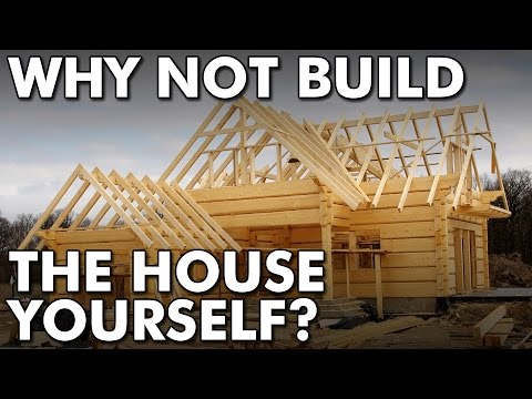 Why not build a tiny house yourself?