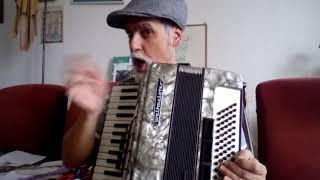 שיר לפסח לילדים, סבא אליעזר מנגן שמחה רבה באקורדיון
