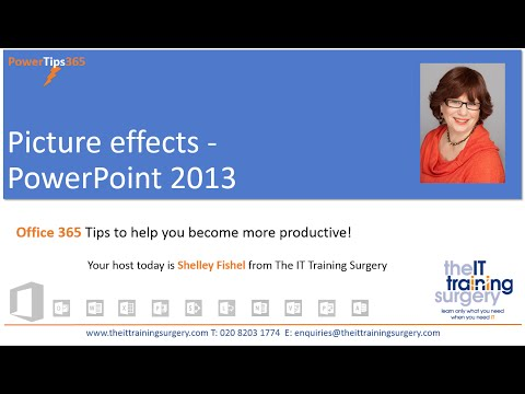 How to Format Images in PowerPoint 2013