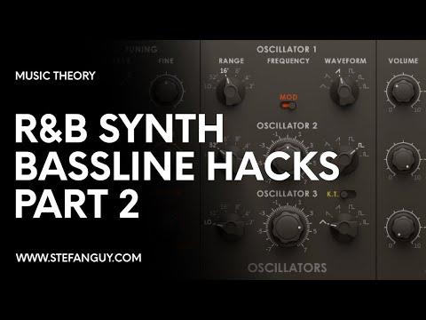 Sick R&B Basslines (Part 2)