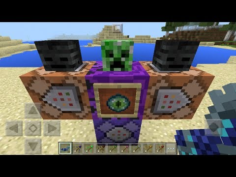 NEW COMMAND BLOCK CREATIONS in Minecraft Pocket Edition 1.1.2!!!