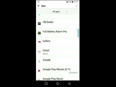 How to disable and enable notification on LG phones