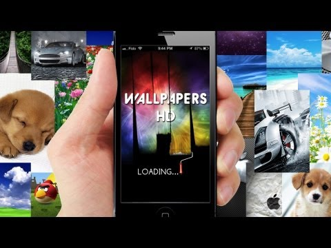 How to Get 1000+ FREE HD WALLPAPERS for iPhone, iPod, iPad