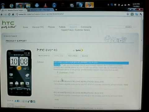 How to unroot HTC EVO 4G (easy)