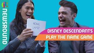 Disney Descendants Cast Name Game Challenge: Part 1