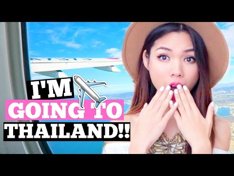 I'M GOING TO THAILAND!!!!! | Thailand Day 1