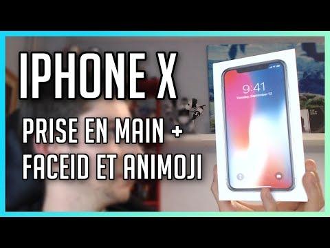 iPhone X • Première prise en main + test de FaceID et Animoji !