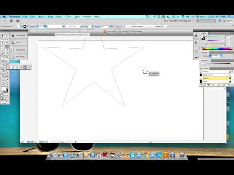 Different Drawing with the star tool in Illustrator CS5