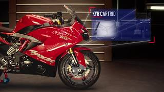 TVS Apache RR 310   Ultimate Track Weapon.