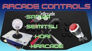 Who makes the best arcade controls? XArcade, Seimitsu, Hori, or Sanwa?