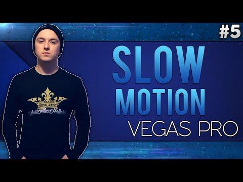 Sony Vegas Pro 13: Slow Motion - Tutorial #5