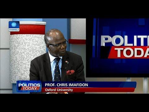 The Level Of Corruption In Nigeria Sickens Me - Prof. Imafidon |Politics Today|