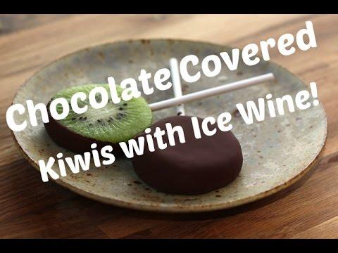 Icewine Dessert Recipes | Icewine Kiwi Lollipops Icewine | Wineries Niagara