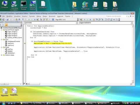 Impostare correttamente i Timer con Excel e il VBA