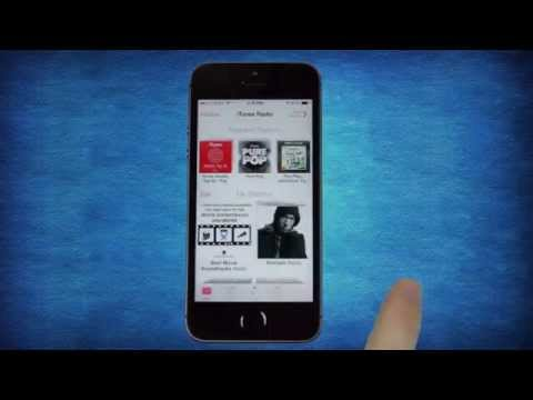 iTunes Radio on iOS 7