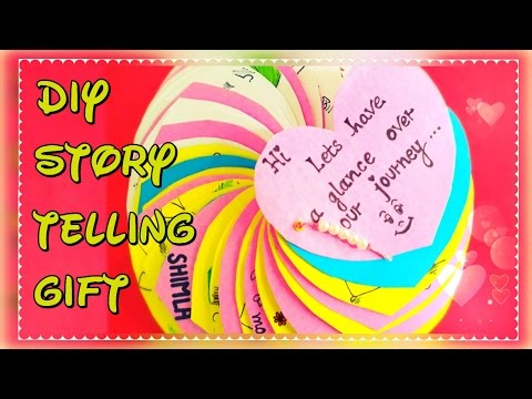 DIY: birthday gift for husband with tutorial | storytelling gift for love