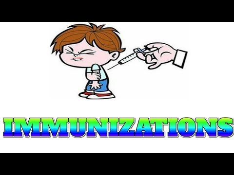 [Human Body 15] Listen, you haven't know about IMMUNIZATIONS fact yet.