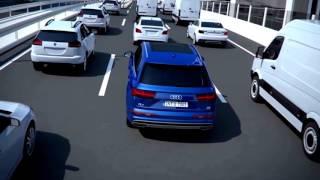 Audi Q7 2015 model car