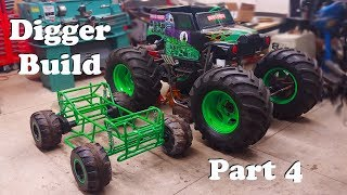 Mini Custom 4wd Grave Digger Monster Truck Modified Powerwheels Part 4