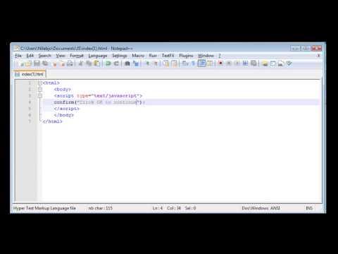 Javascript Tutorial - 3 - Popup Boxes