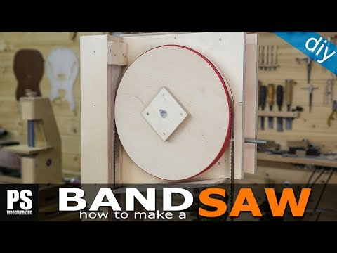 Making a homemade Band Saw (part2 / the wheels)