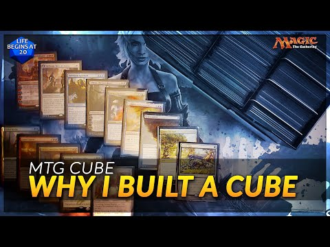 Why I Built an MTG Cube! Plus Tips and Tricks for Building Yours!  MTG Cubed: Episode 2