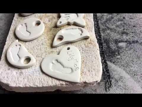 How I make Footprint Jewellery