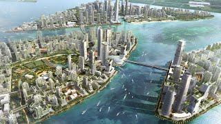 Malaysia's $100BN Smart Island City | The B1M