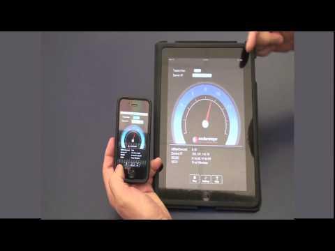 Wireless Analyzer iPhone Application