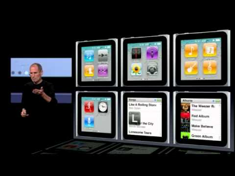 Apple September 2010 Music Event-The iPod Nano Touch