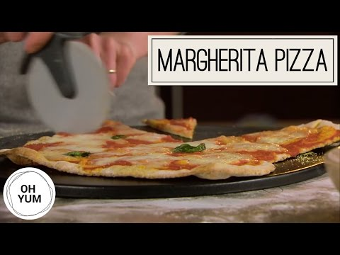 Easy Home Made Margherita Pizza Recipe | Oh Yum with Anna Olson