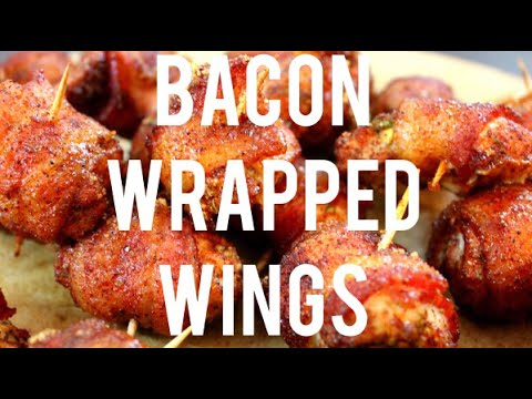 SECRET TIPS OF BACON WRAPPED CHICKEN WINGS