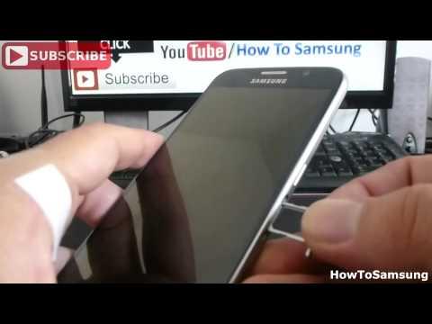 how to put nano sim in Samsung Galaxy S6 Basic Tutorials