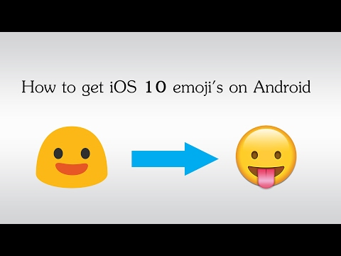 How to get iOS emoji's on Android (2017)