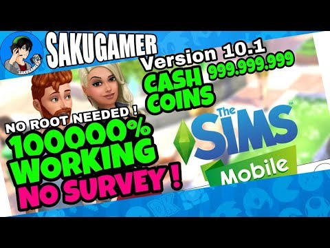 Update Cheat The Sims Mobile Mod 100% Working April 2018 Update