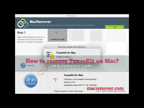 How to Remove TunesKit on your macOS and Mac OS X?