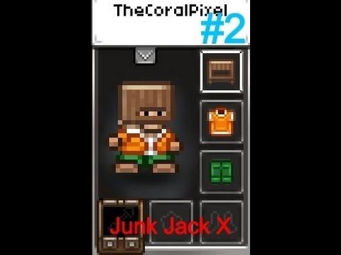 Junk Jack X - Episode 2 - WOODEN HELMET OF VICTORY!